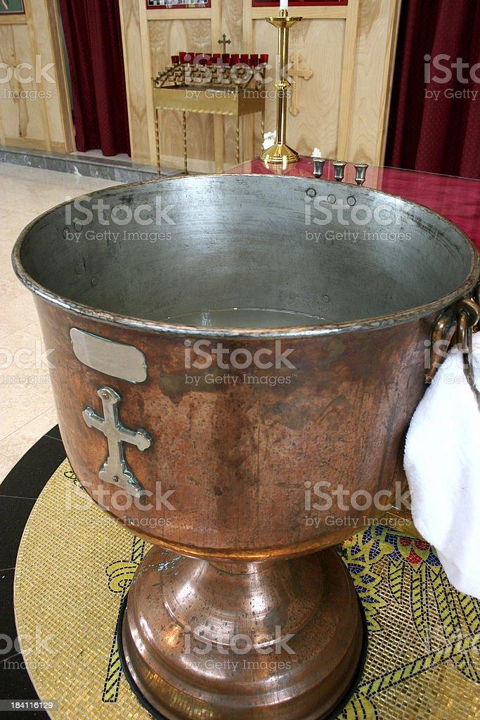 Baptism royalty-free stock photo