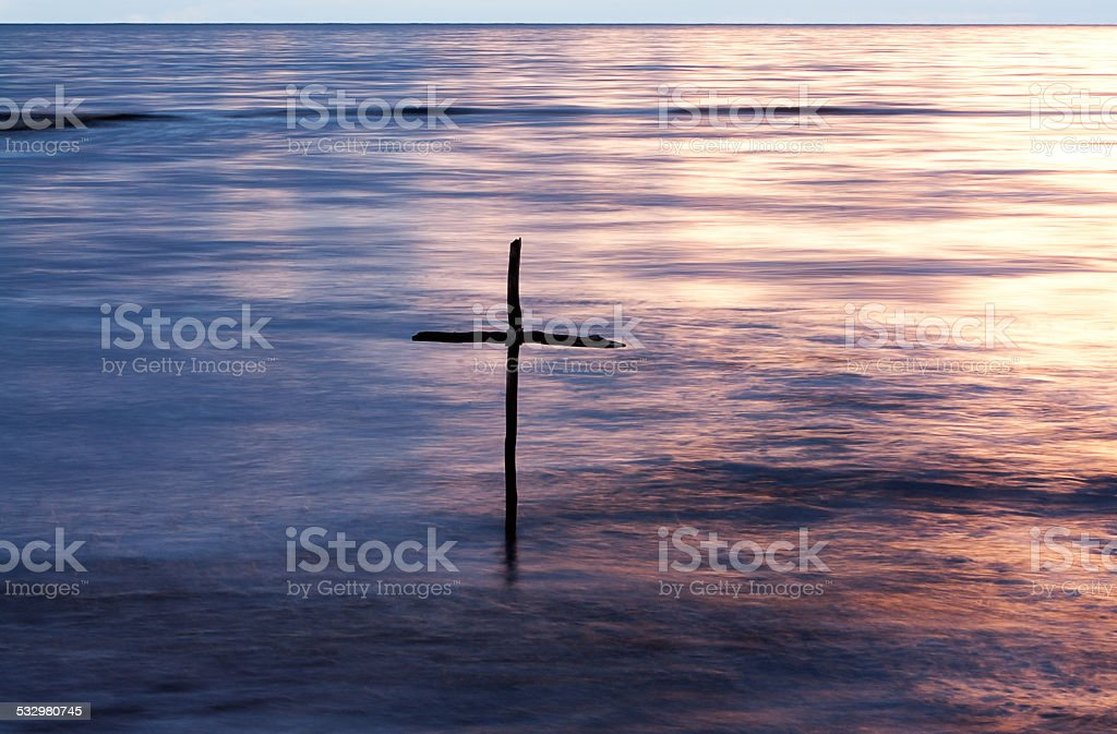 Baptism stock photo