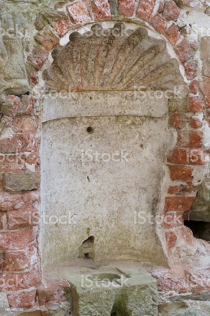 Baptismal Font royalty-free stock photo