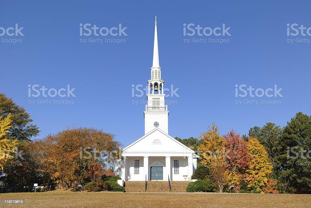 Baptist Church royalty-free stock photo