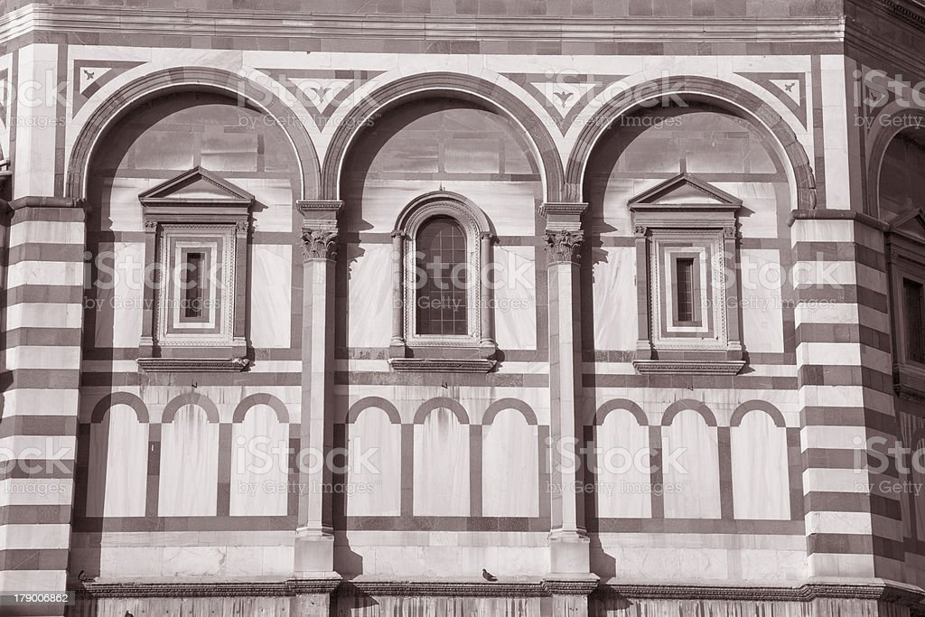 Baptistery of Cathedral Church; Florence; stock photo