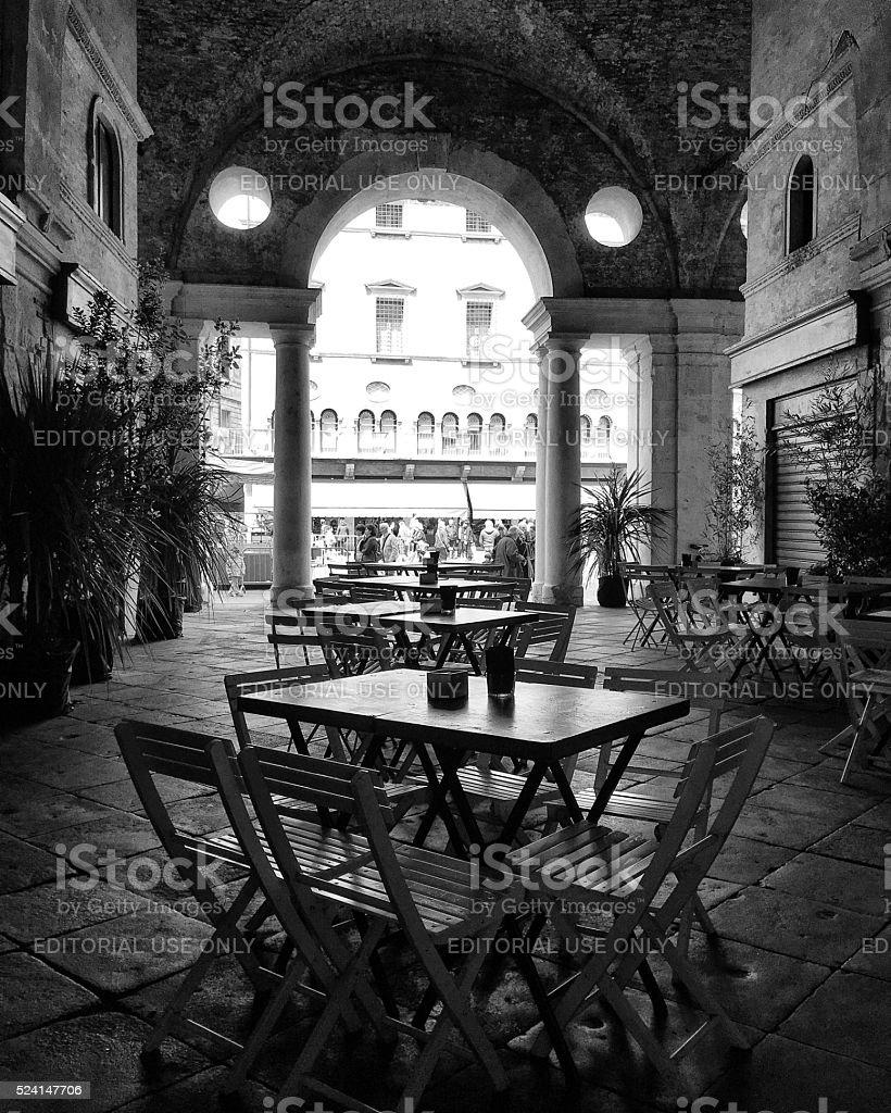 Bar Borsa. Vicenza stock photo