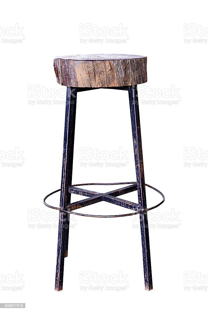 Bar chair. stock photo