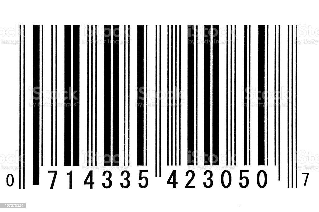 Bar Code stock photo