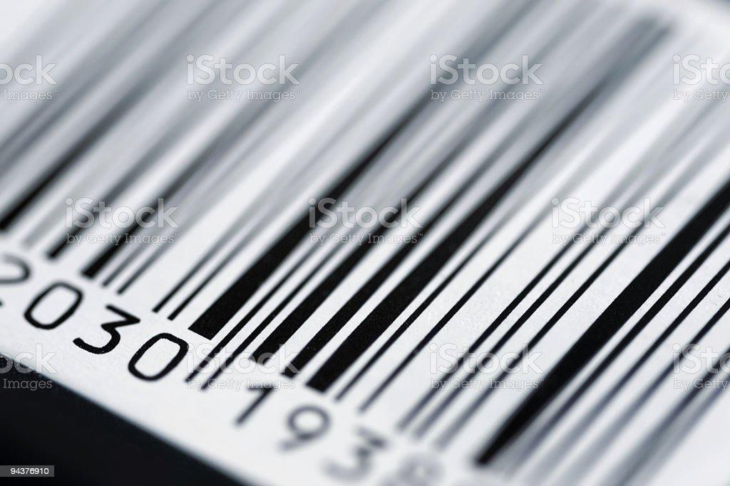Bar Code royalty-free stock photo