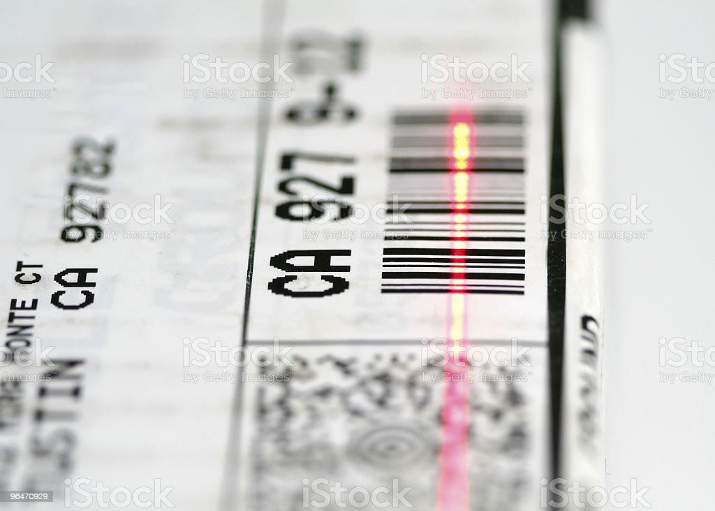 Bar Code royalty-free stock photo
