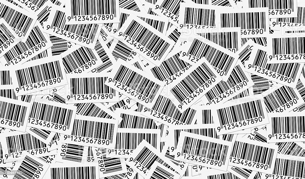 Bar Codes background stock photo