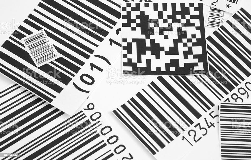 Bar codes. royalty-free stock photo