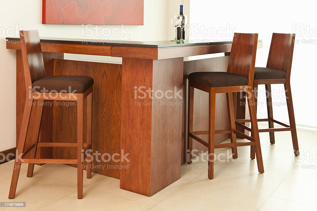 Bar Counter royalty-free stock photo