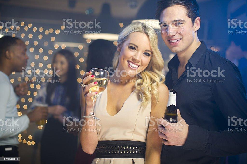 bar couple royalty-free stock photo