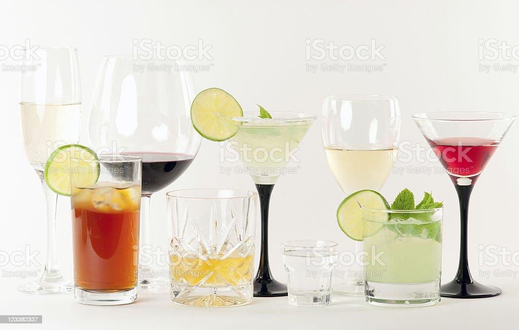 Bar Drinks royalty-free stock photo