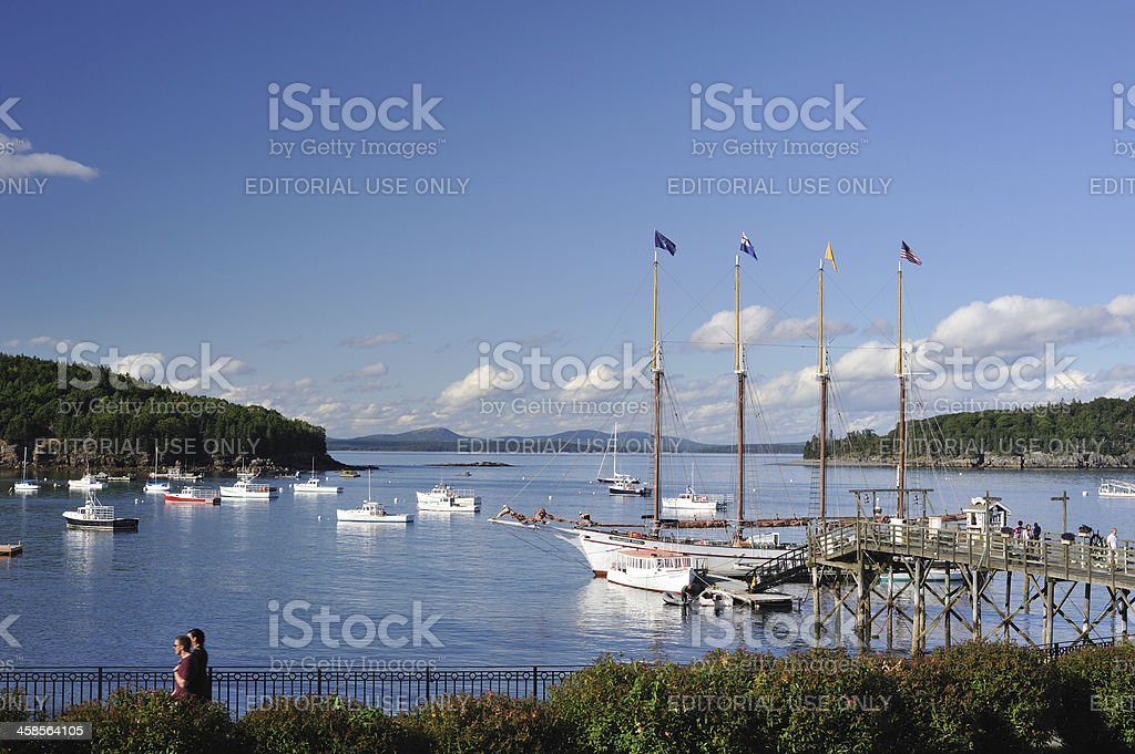 Bar Harbor stock photo