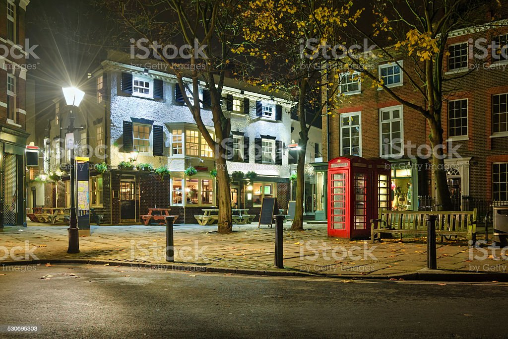 Bar in Lodon stock photo