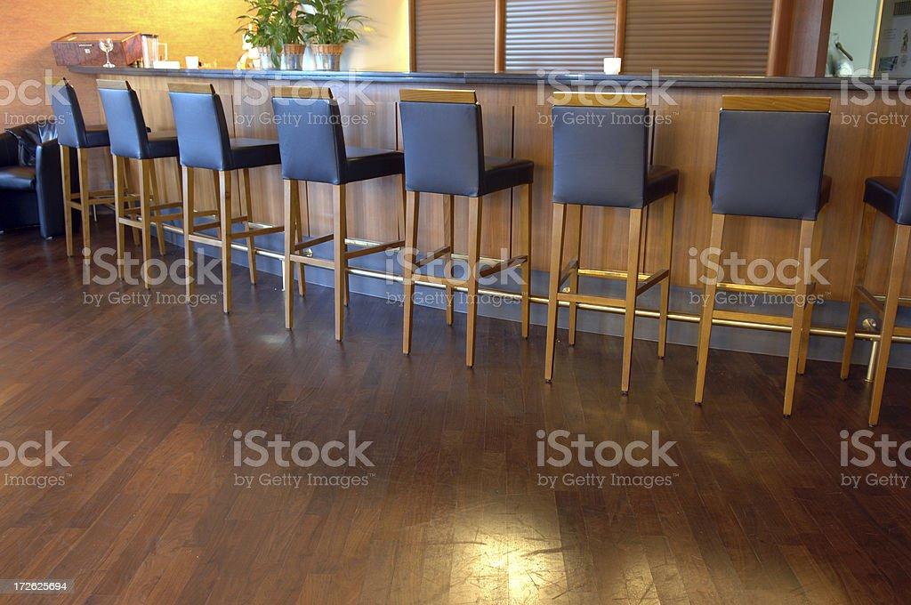 bar interior royalty-free stock photo