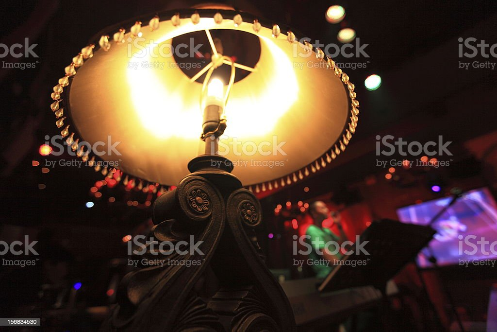 Bar lights royalty-free stock photo