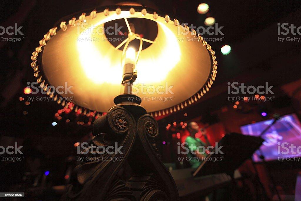 Bar lights stock photo