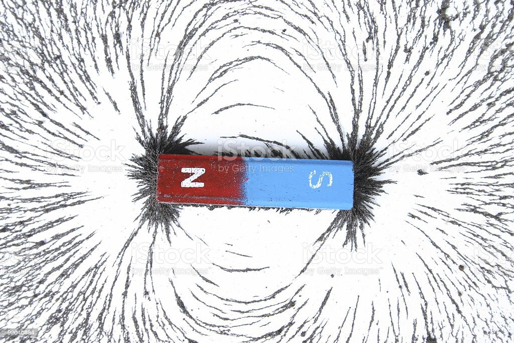 bar magnet stock photo
