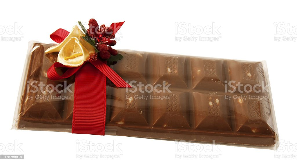 bar of chocolate royalty-free stock photo