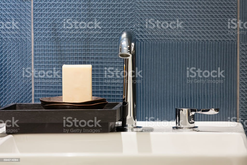 Bar of soap stock photo