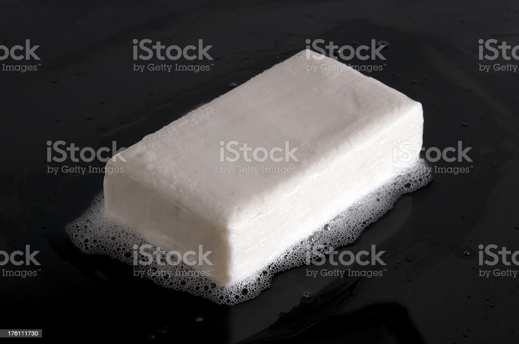 Bar of Soap Series stock photo