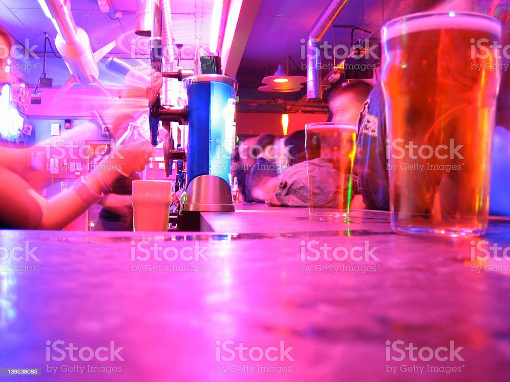 Bar shot royalty-free stock photo