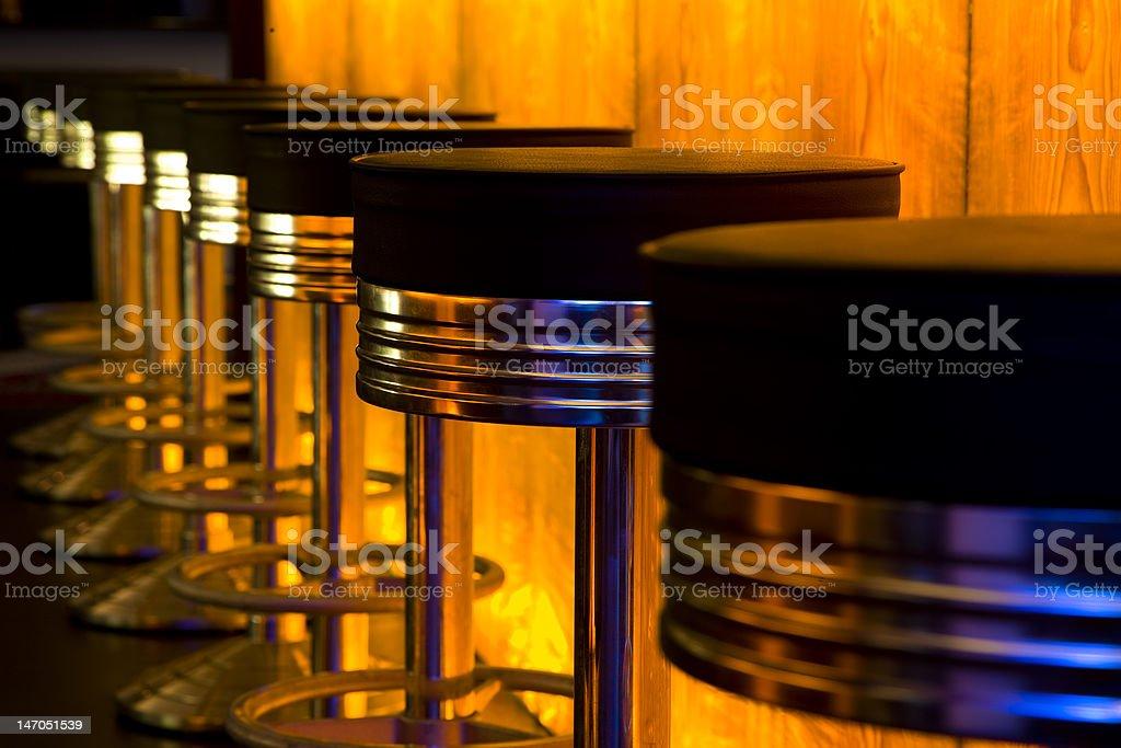 Bar Stools stock photo