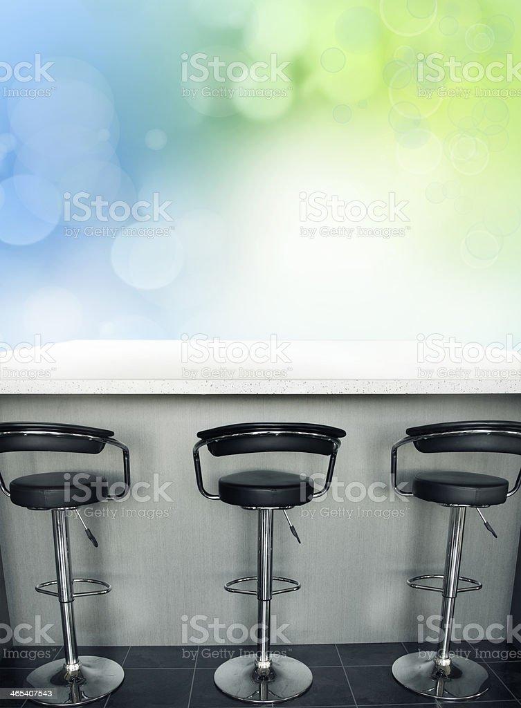 Bar stools royalty-free stock photo