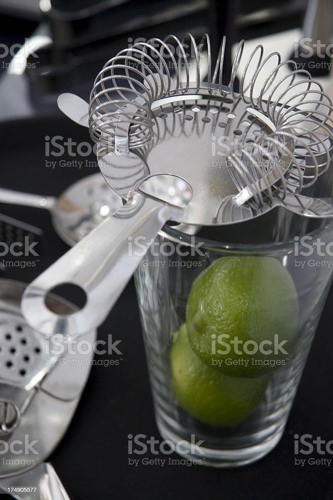 Bar strainer royalty-free stock photo