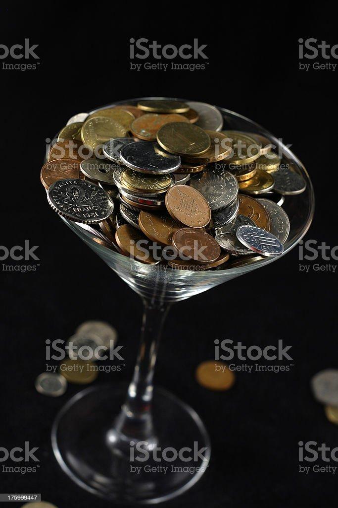 Bar Tab royalty-free stock photo
