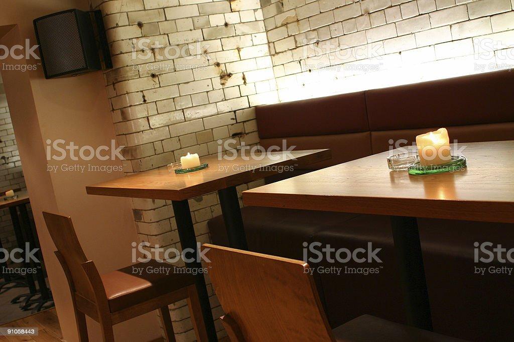 Bar Tables royalty-free stock photo