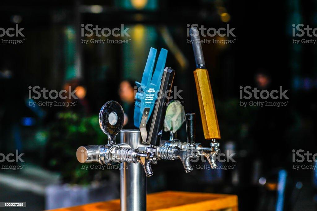 Bar Tabs stock photo