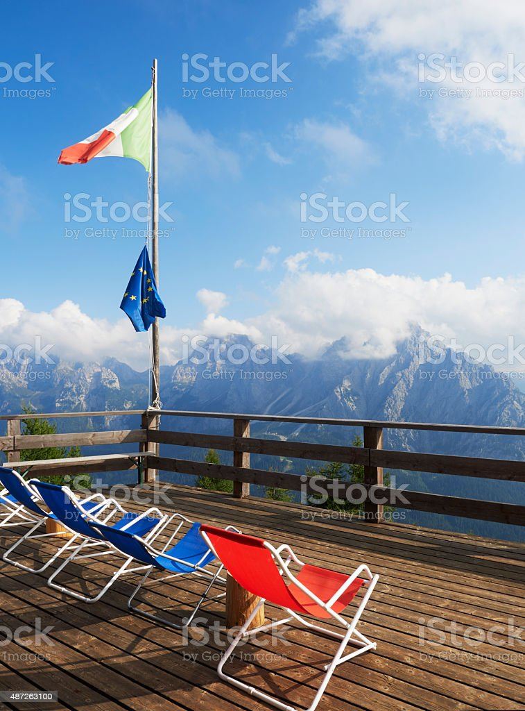 Bar with Panoramas. Color Image stock photo