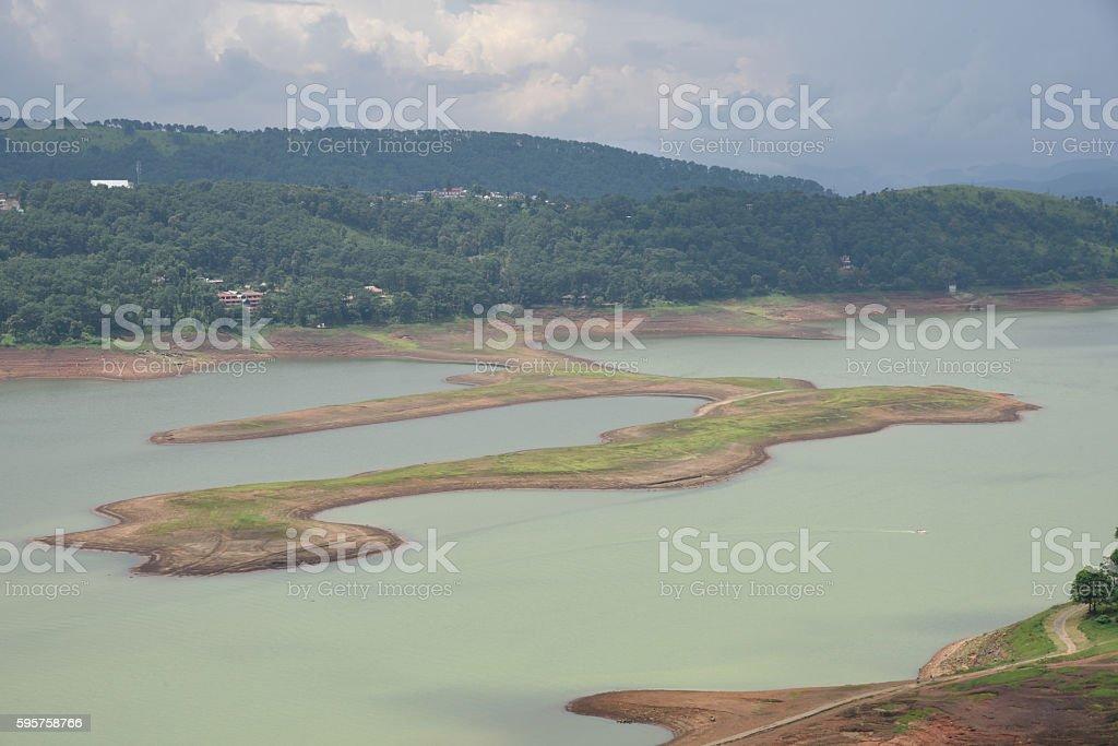 Bara pani umiam lake Shillong ; Meghalaya ; India stock photo