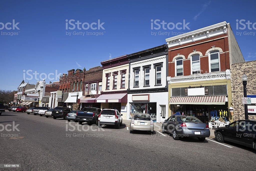Baraboo in Sauk County, Wisconsin royalty-free stock photo