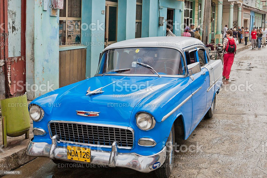 Baracoa Street, Cuba royalty-free stock photo