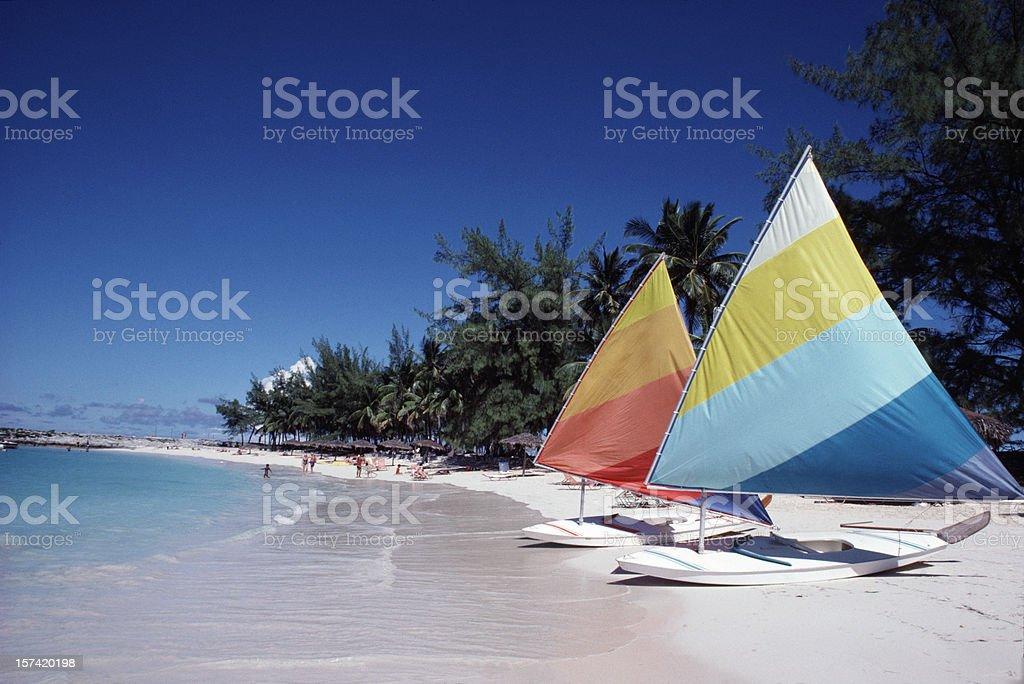 Barbados beach royalty-free stock photo