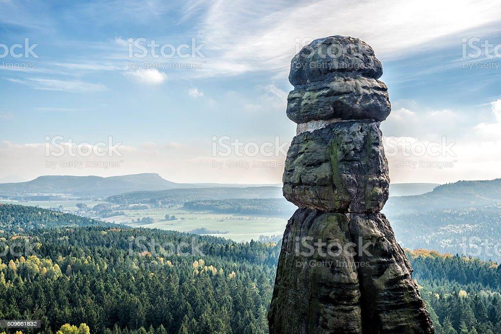 Barbarine from Pfaffenstein stock photo