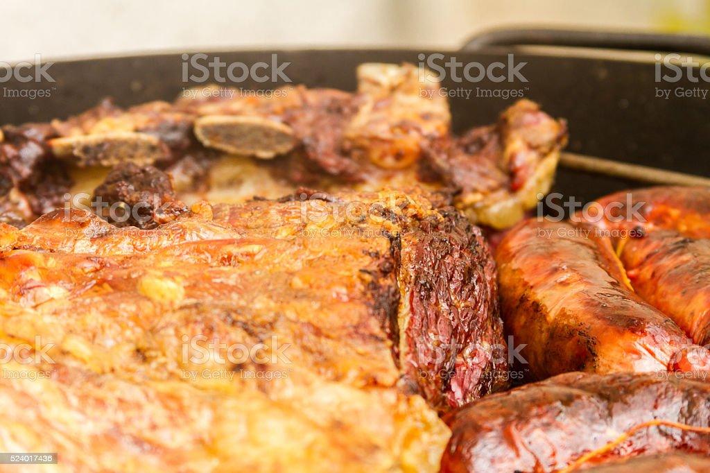 Barbecue 2 stock photo