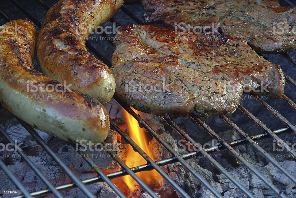barbecue 55 stock photo