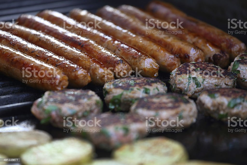 Barbecue food stock photo