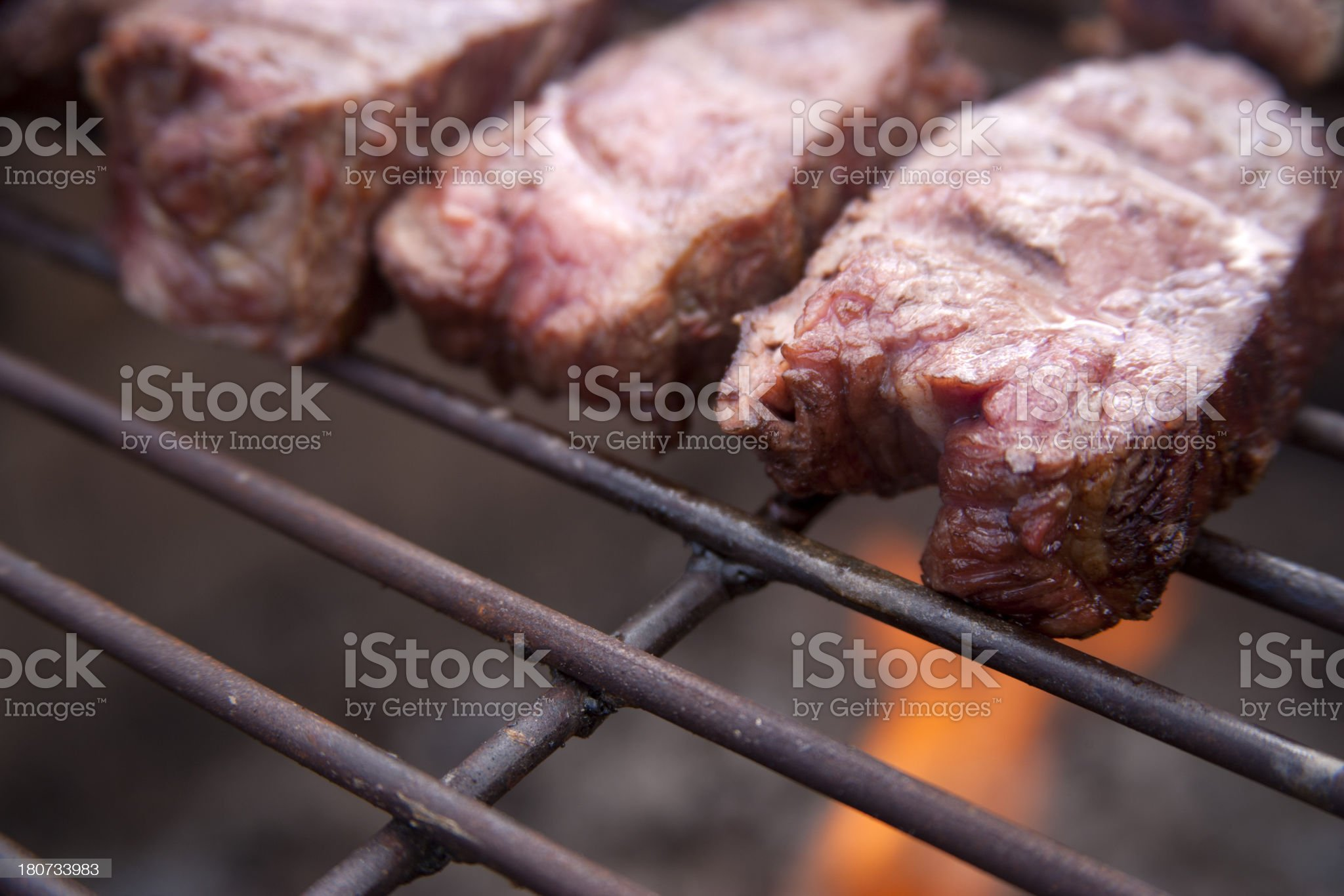 Barbecue Grill Detail royalty-free stock photo