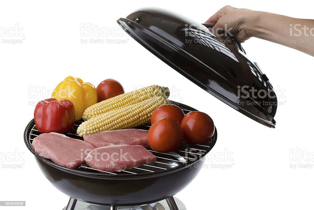 Barbecue Grill stock photo