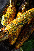 barbecue grilled corn
