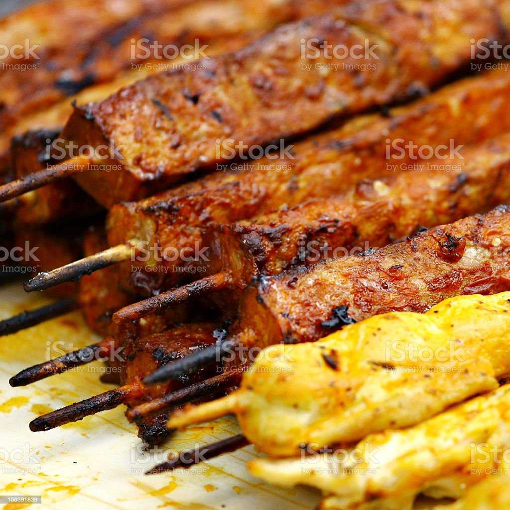 Barbecue meat royalty-free stock photo