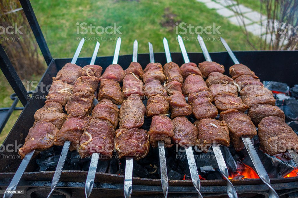 barbecue Lizenzfreies stock-foto