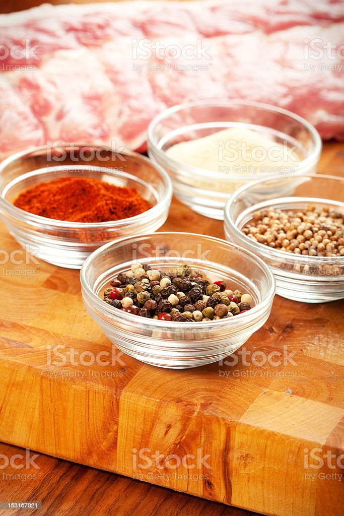 Barbecue Preparation royalty-free stock photo