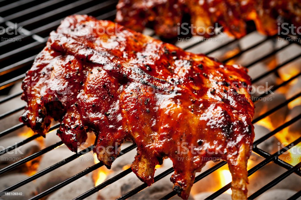 Barbecue Ribs royalty-free stock photo