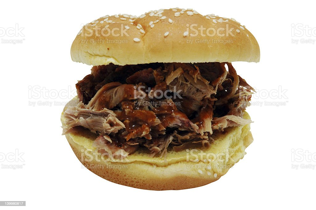 Barbecue Sandwich royalty-free stock photo