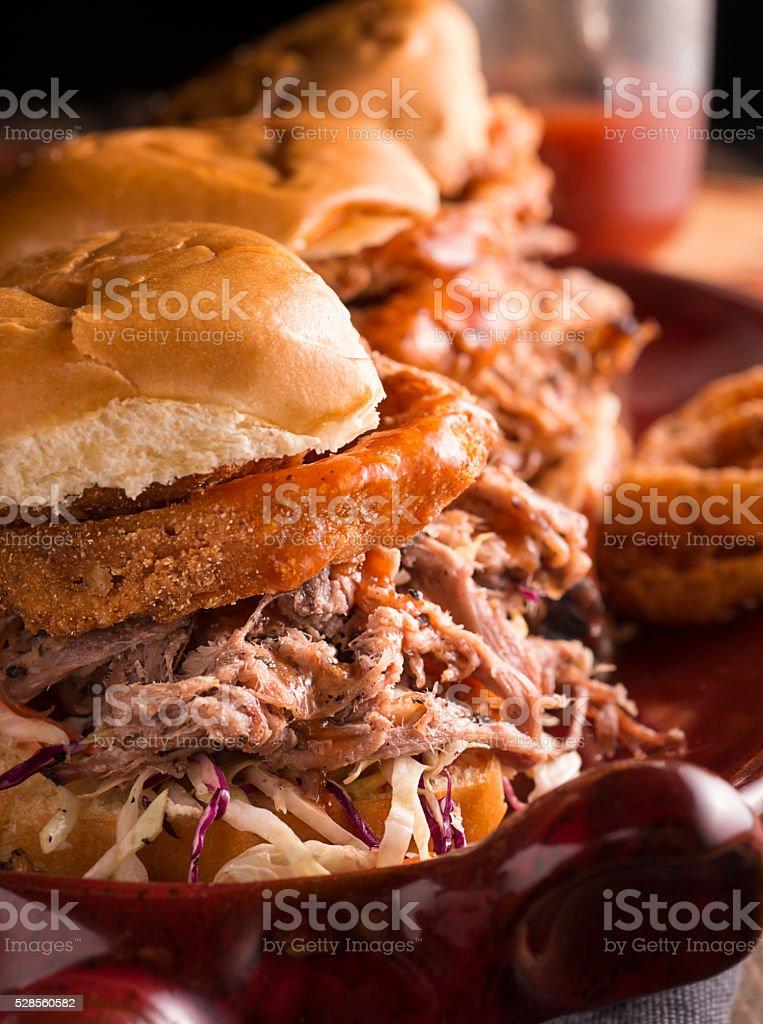 Barbecue Sandwich stock photo