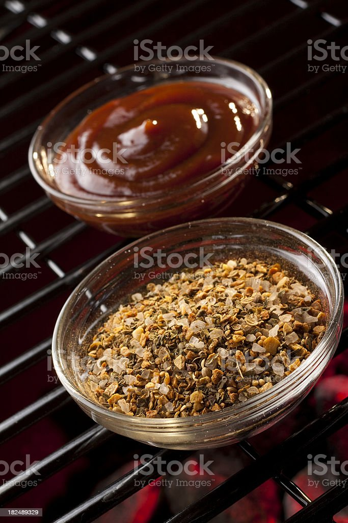 Barbecue Spices royalty-free stock photo
